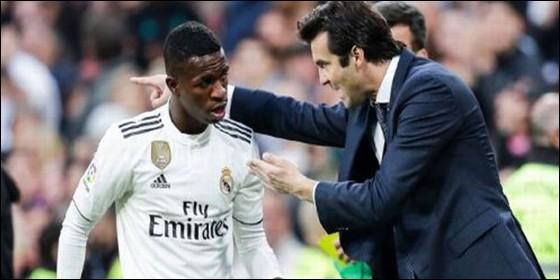 Real Madrid | Vinicius muestra su agradecimiento a Solari