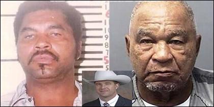 El asesino en serie Samuel Little, cuando fue capturado y ahora, cuando le ha hecho cantar el Ranger James B. Holland.