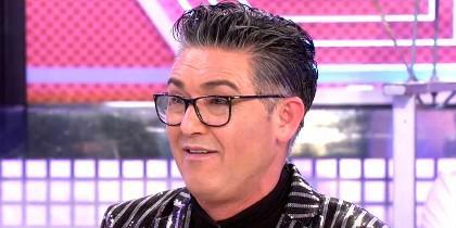 Ángel Garó en 'Sábado Deluxe'  (Telecinco)