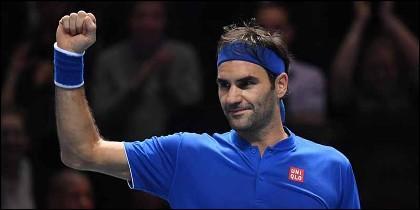 El tenista suizo Roger Federer.
