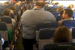 Sobrepeso y aviones