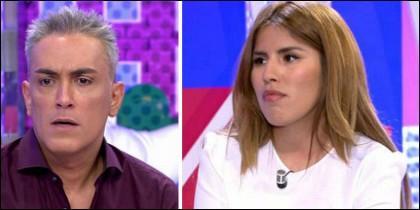 Kiko Hernández y Chabelita.