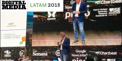 Periodista Digital en Digital Latam 2018.