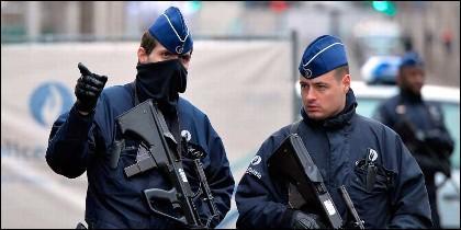 Policia belgas