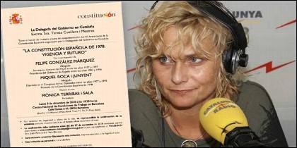 La periodista independentista Mònica Terribas.