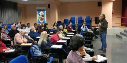 El biblista Ariel Álvarez, en el CEHS