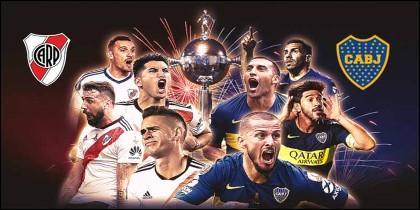 Final Copa Libertadores 2018 - River vs Boca.