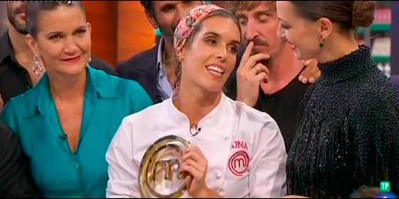 Ona Carbonell se proclama ganadora de 'MasterChef Celebrity'