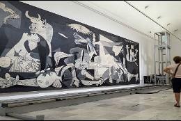 El Gernica de Picasso en el Museo Reina Sofía