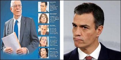 Pedro Sánchez y todos sus ministros con algún pufo.