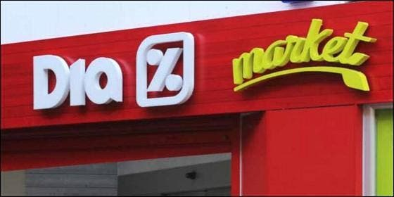 Cadena de supermercados DIA.