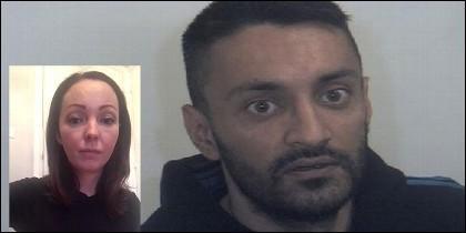 Sammy Woodhouse tenía 14 años cuando la violó y embarazó Arshid Hussain.