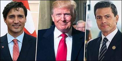 Los presidentes de Canada, EEUU y México han firmado una nuevo tratado comercial.