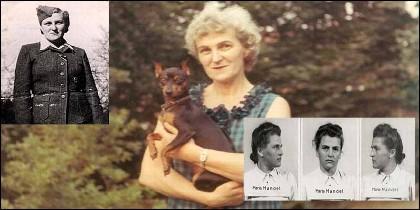 Hermine Braunsteiner, la 'Yegua nazi de Majdanek'.