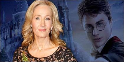 La escritora J K. Rowling, 'madre' de Harry Potter.