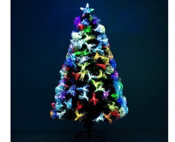 árbol Navidad moderno con luces LED