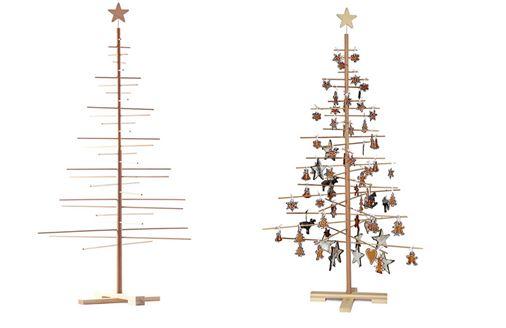 árboles navideños minimalistas