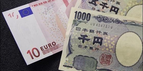 Divisas: euro y yen.