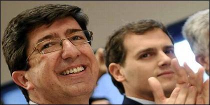Ciudadanos: Marín con Albert Rivera.