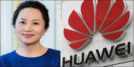Meng Wanzhou, directora financiera de Huawei.