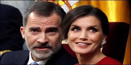 Los reyes Felipe VI y la Reina Letizia (ESPAÑA).