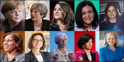 Forbes: las 10 mujeres más poderosas del mundo en 2018.