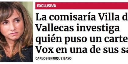 Ana Pardo de Vera y sus 'exclusivas'.