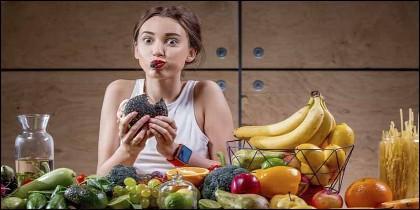 Dieta, comida, alimentos, salud y belleza.