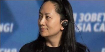 Jefa financiera de Huawei