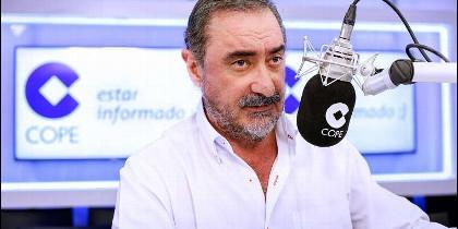Carlos Herrera en la antena de la COPE.