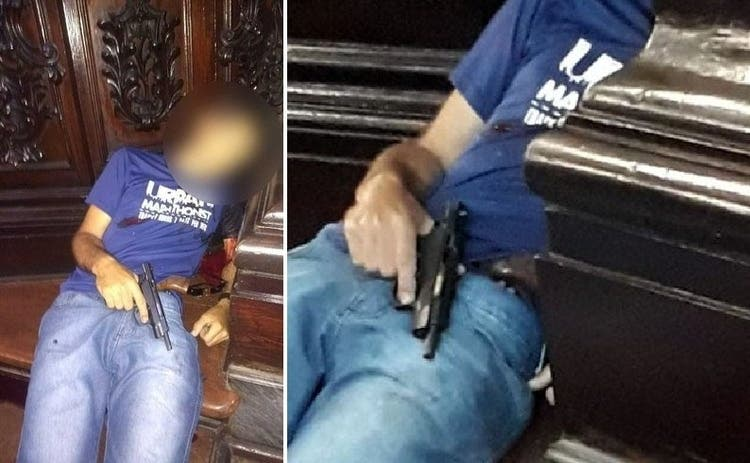 Reportan tiroteo en una catedral de Sao Paulo