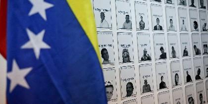 Exposición presos políticos en Venezuela