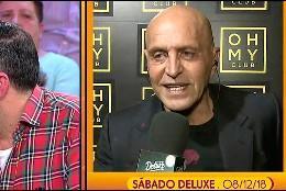 Kike Calleja contando como vio a Matamoros  (Telecinco)