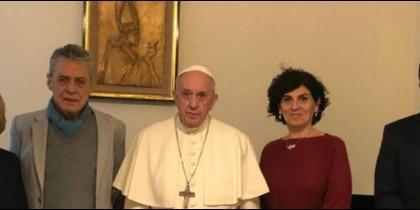 Audiencia del Papa con referentes sociales de América Latina