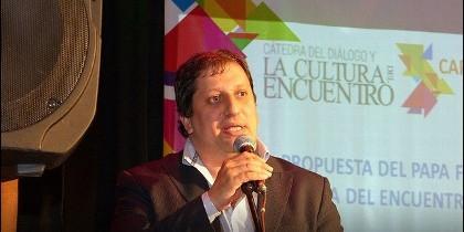 Profesor Liberman, director del Instituto del Diálogo y la Cultura del Encuentro