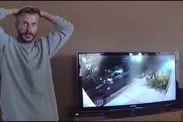 La reacción de Chris Watts, el 'monstruo de Denver', al ver que ha sido descubierto.