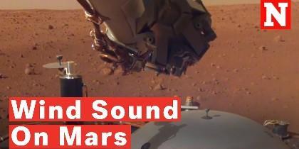 El sonido del viento marciano
