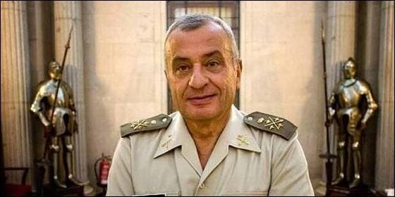El general Fulgencio Coll, ex jefe de Estado Mayor del Ejército.