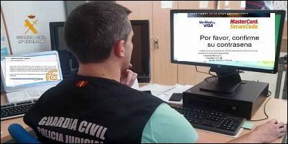 Los expertos informáticos de la Guardia Civil alertan sobre timos online como el del mail de Apple.