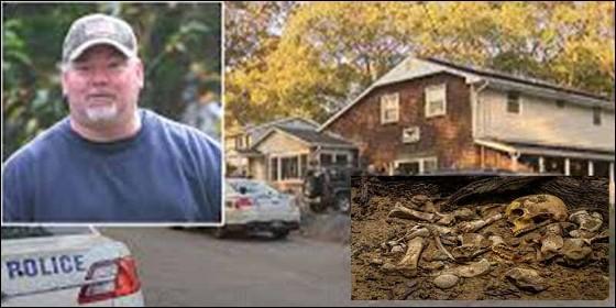 George Caroll, su casa y los huesos de su padre.