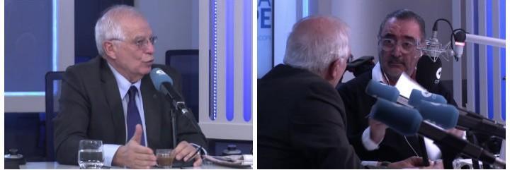Josep Borrel y Carlos Herrera.