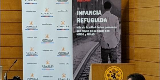 Jornada 'Infancia refugiada', organizada por Fundación la Merced y Comillas