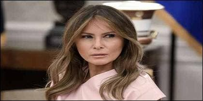 Melania Trump, esposa del presidente de los Estados Unidos, Donald Trump..