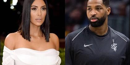 Kim Kardashian y Tristan