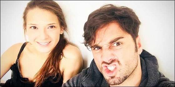 Yana Olina y David Bustamante.