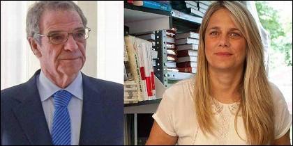 César Alierta con Isabel Sartorius.