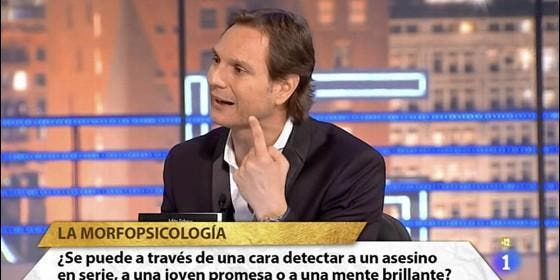 Javier Cárdenas, en uno de sus programas en TVE.