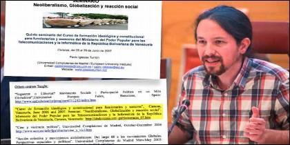Pablo Iglesias (PODEMOS) y sus mentiras.
