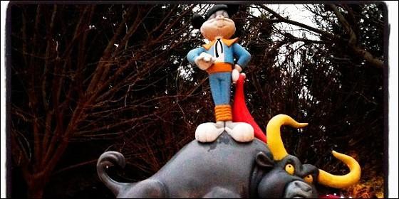 Bugs Bunny en el Parque Warner