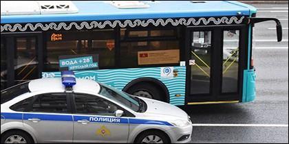 Roba autobús